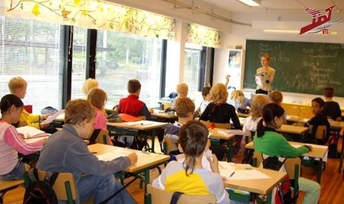 Một lớp học tại Phần Lan