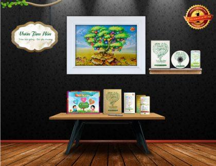 Vườn tâm hồn - Bộ giải pháp giáo dục 50 phẩm chất, đức tính con trẻ