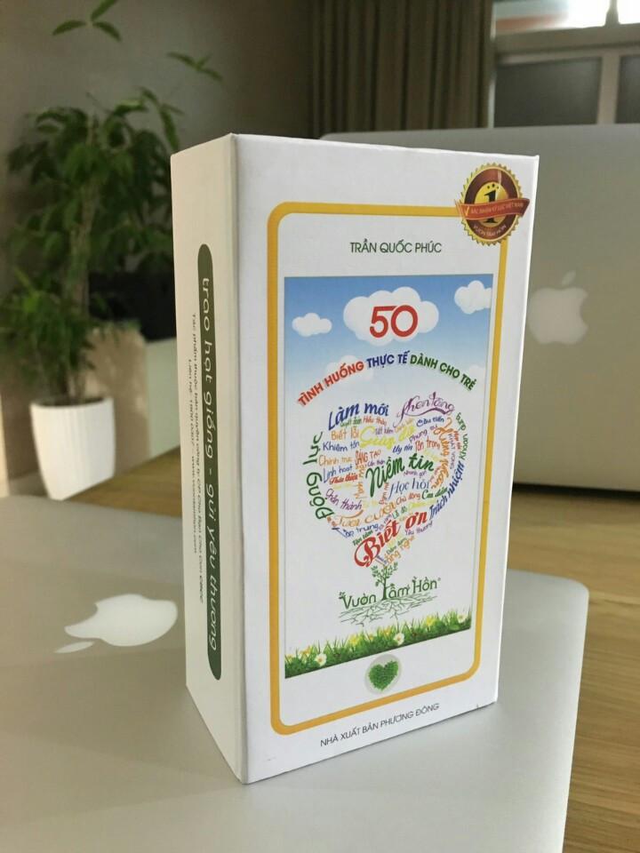 Bộ thẻ giáo dục nhân cách - 50 tình huống thực tế cho trẻ