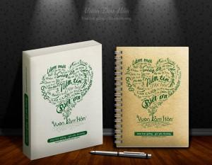 Notebook Vườn tâm hồn - Cẩm nang trò chuyện cùng con