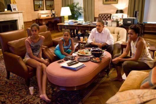 Gia đình tổng thống Mỹ - Obama