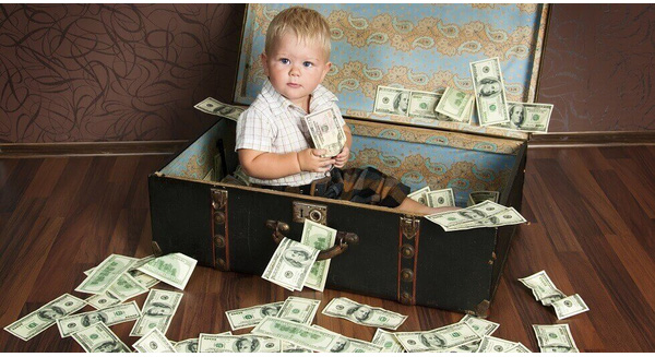 Cha mẹ quyết định giàu hay nghèo của con trong tương lai