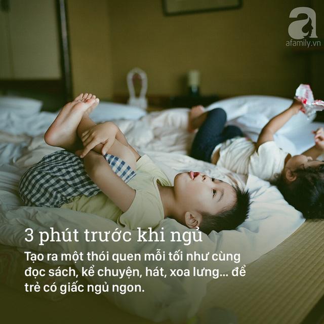 3 phút quan trọng trước khi trẻ ngủ