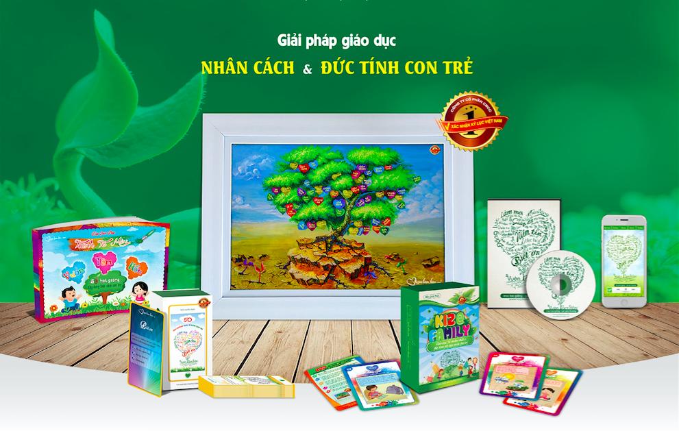 Vườn Tâm Hồn - Giáo dục nhân cách
