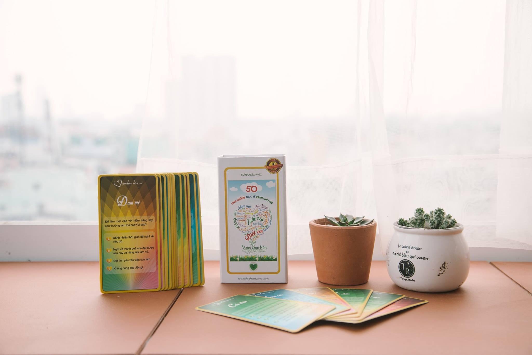 Vườn Tâm Hồn - Bộ thẻ thần kỳ 50 tình huống thực tế dành cho tiểu học