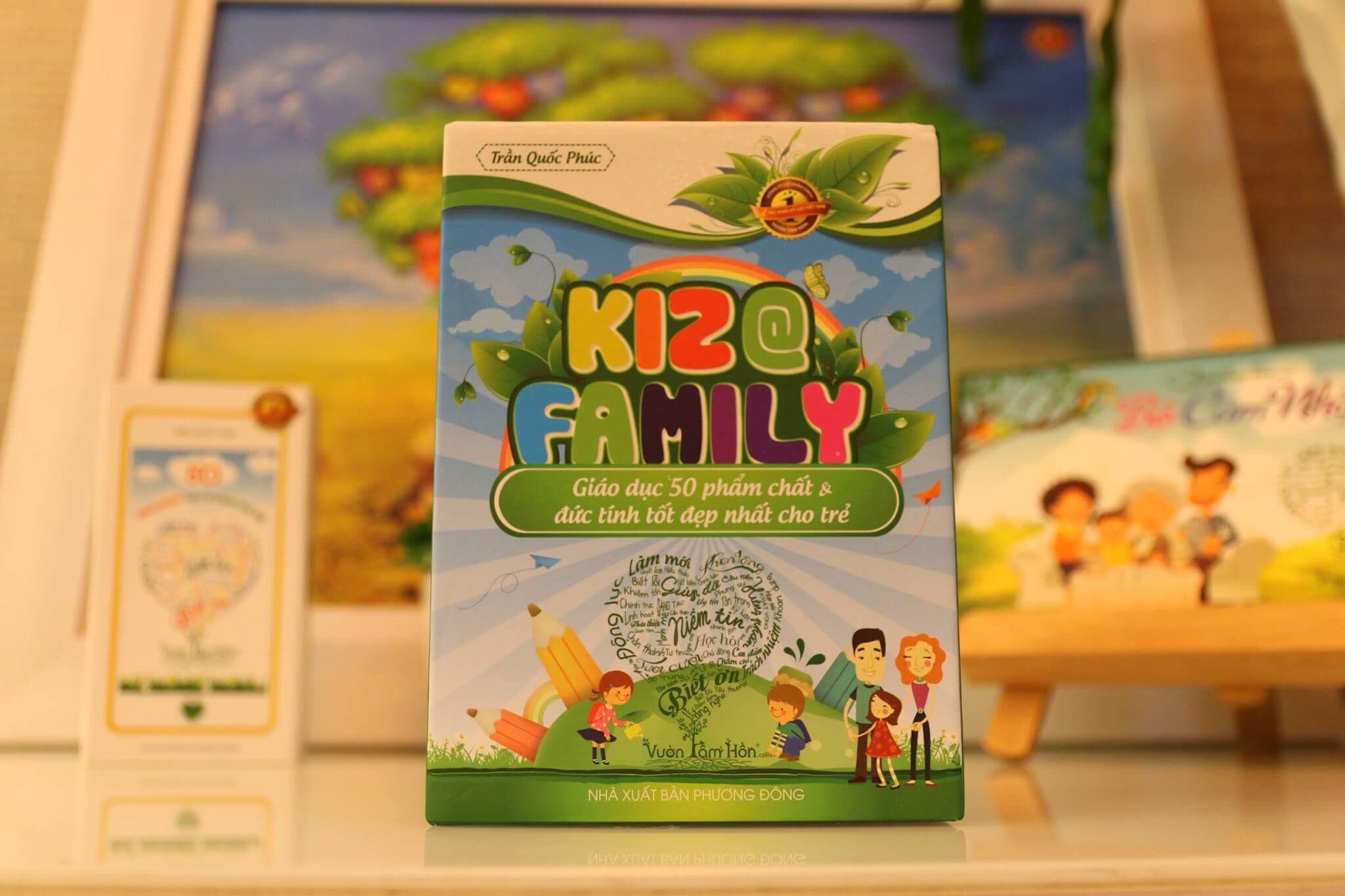 Vườn Tâm Hồn - Bộ thẻ song ngữ Kiz@family mầm non