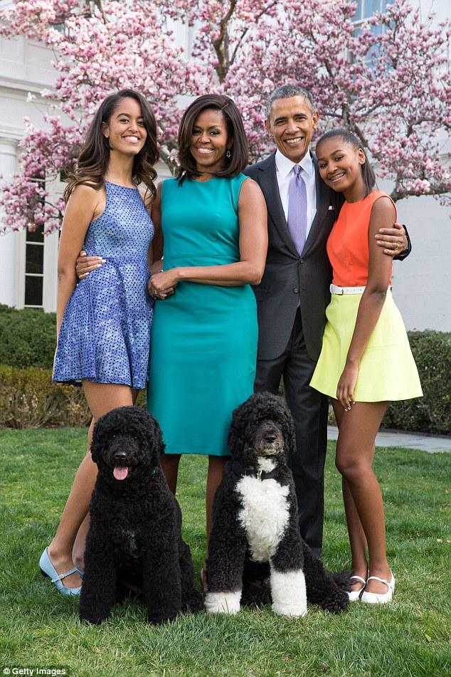 Gia đình tổng thống Obama tại nhà trắng