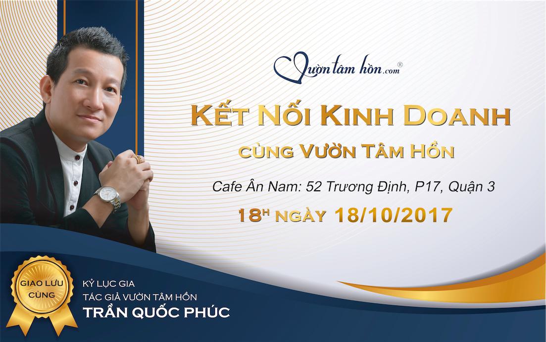 Hợp tác kinh doanh cùng Vườn Tâm Hồn - Kỷ lục gia Trần Quốc Phúc