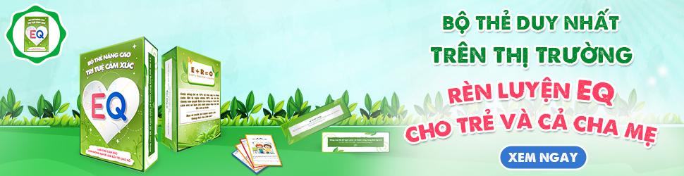 Bộ thẻ nâng cao trí tuệ cảm xúc (EQ) dành cho trẻ và cha mẹ