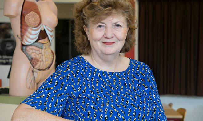 Jacqueline Boerefijn, giáo viên môn sinh học tại trường Groen van Prinstererlyceum, Hà Lan