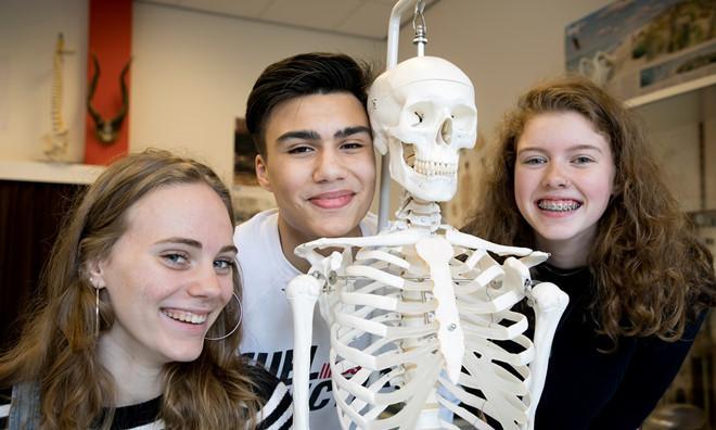 Học sinh Hà Lan tại lớp học