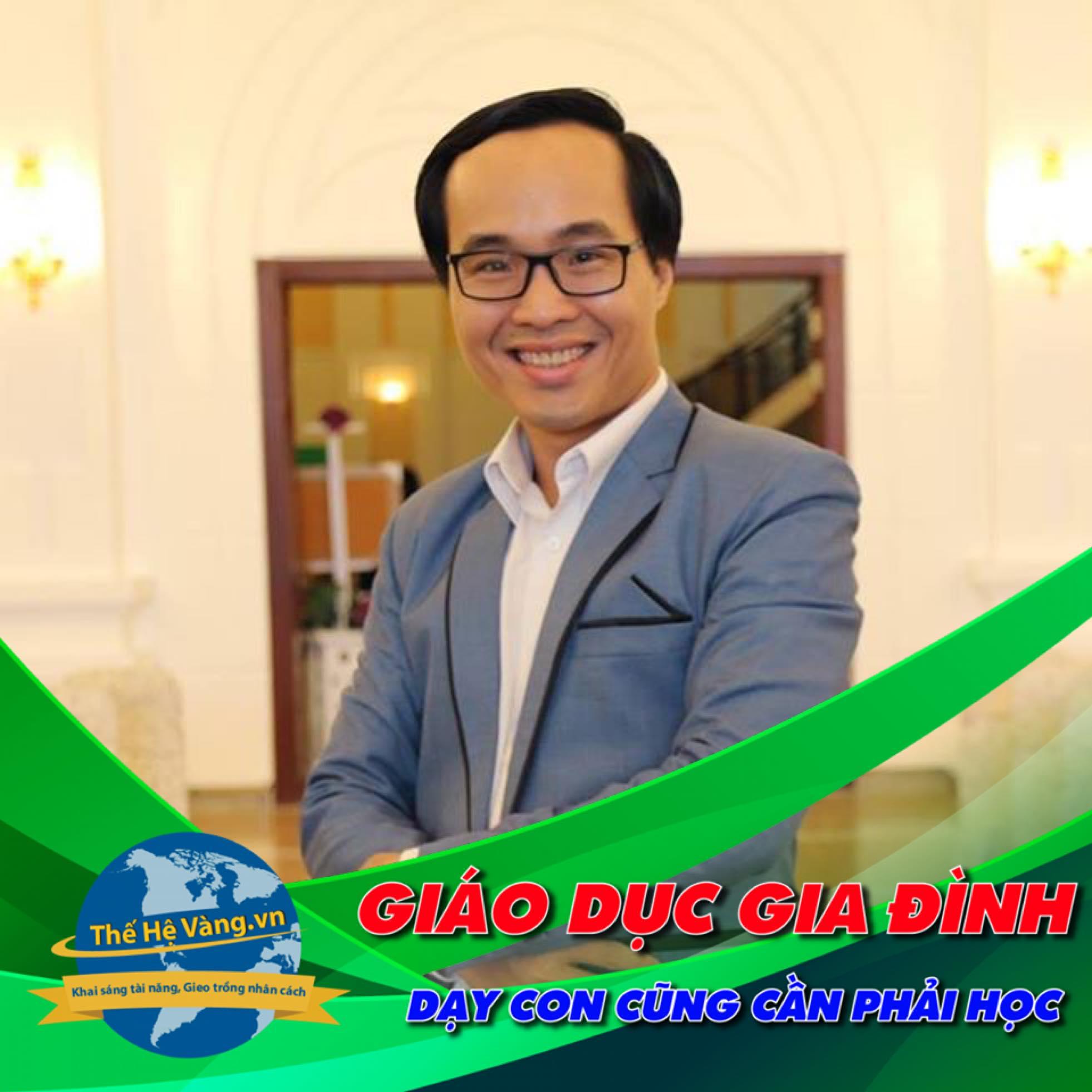 Thầy Lê Thanh Trông - Người đồng hành cùng cha mẹ và kể câu chuyện giáo dục gia đình