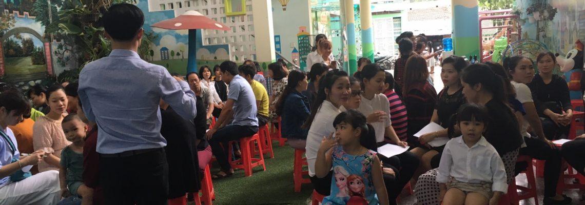 Yêu Thương Con Đúng Cách - Trường Mầm Non Sơn Ca, Bình Định