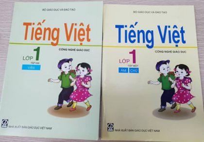 Sách tiếng Việt - Công nghệ giáo dục