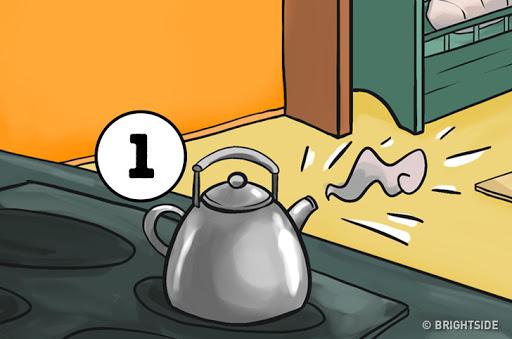 Tính cách con người - Tắt bếp chỗ ấm nước đang sôi
