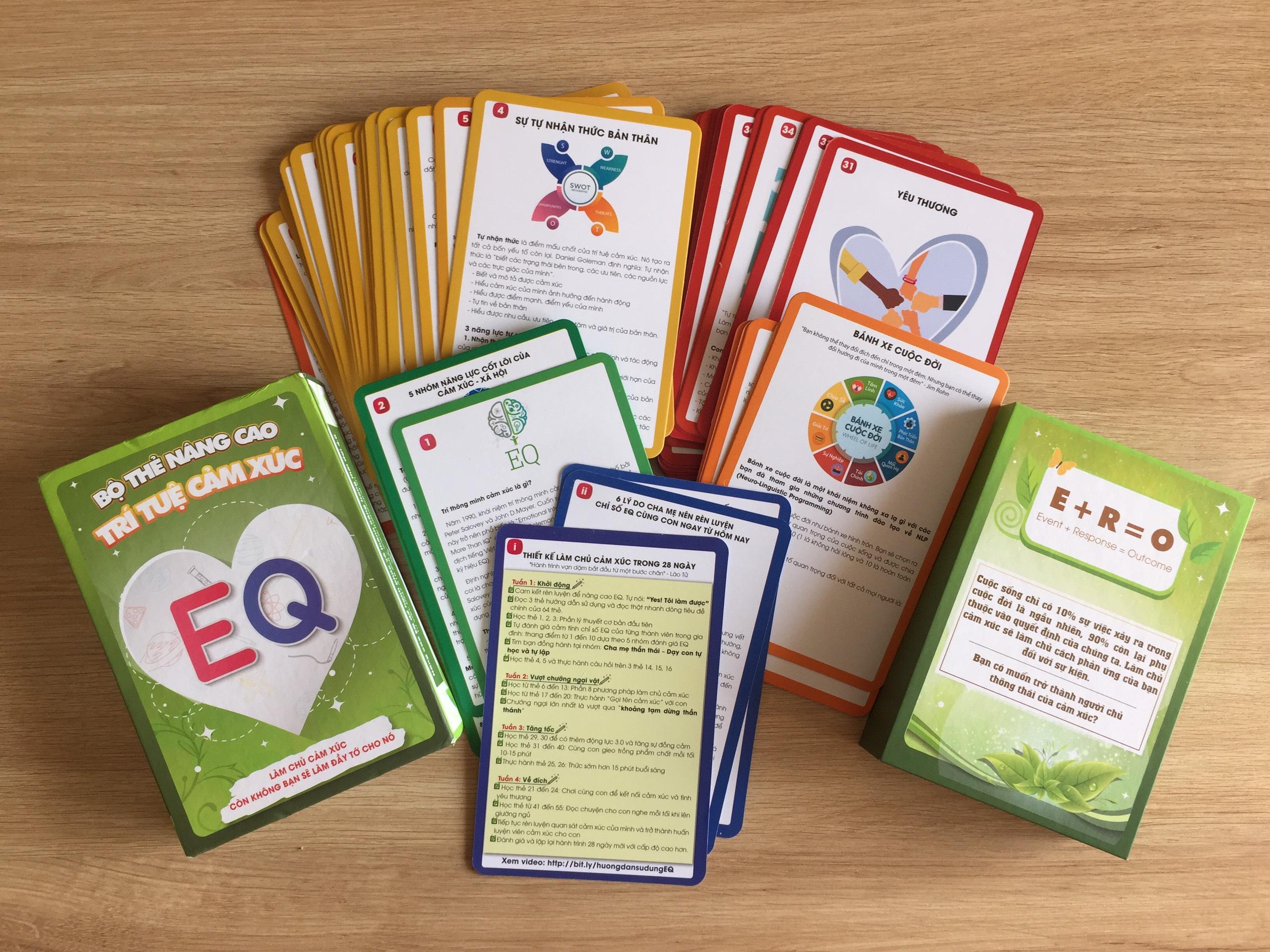 Bộ thẻ nâng cao EQ cho trẻ và cả cha mẹ
