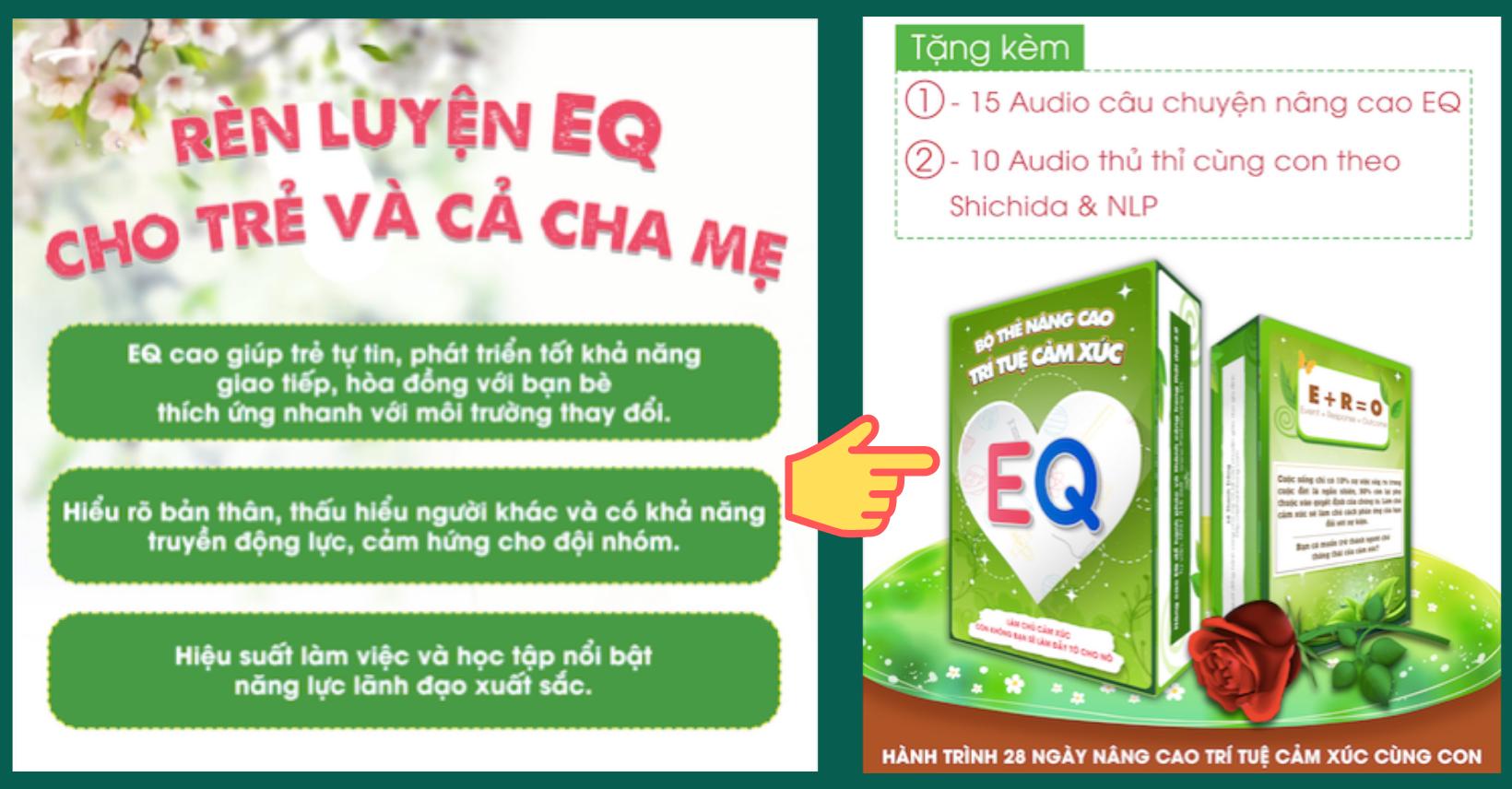 Bộ thẻ nâng cao trí tuệ cảm xúc (EQ) tại nhà