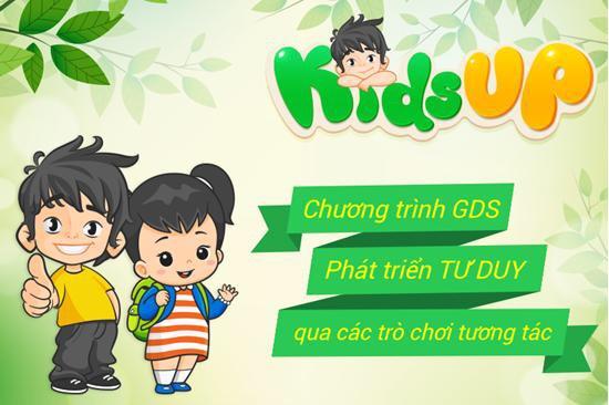 Kids Up - Chương trình giáo dục sớm Montessori và học tiếng Anh cho trẻ 2-7 tuổi