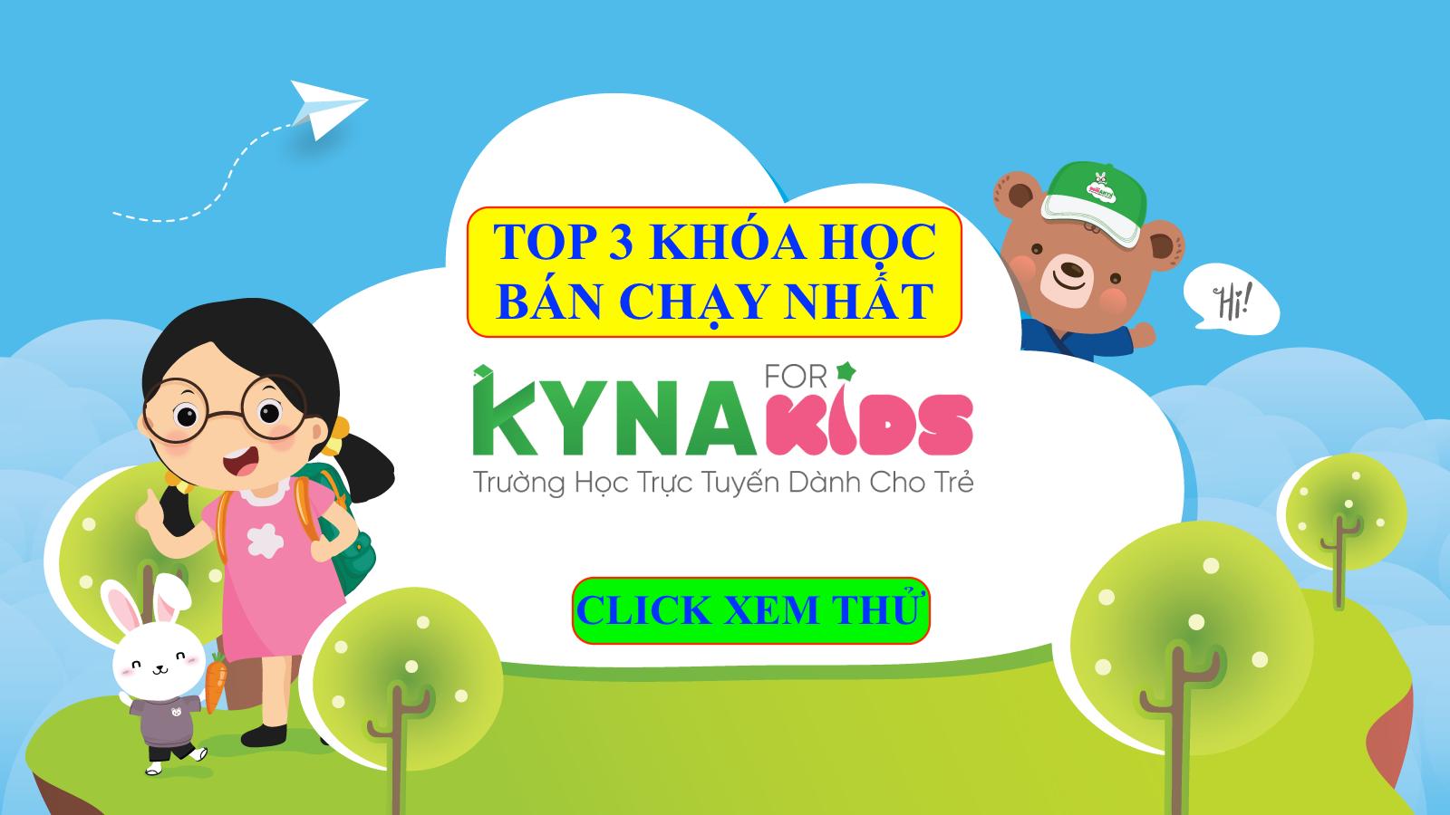 Kynaforkids.vn - Kyna English - Kyna Soroban - Siêu trí nhớ
